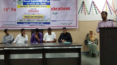 Induction Program (16-08-2018) - Engineering college Haryana Photos