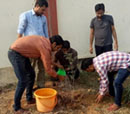 Tree plantation in the Hostel of MEC on the occasion of Haryana Day - Engineering college Haryana Photos